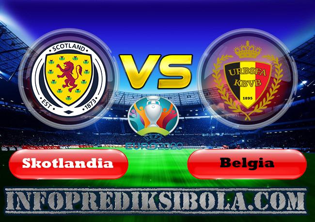 Prediksi Skor Skotlandia vs Belgia 10 September 2019