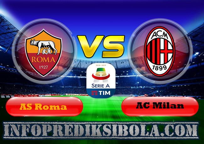 Prediksi Skor AS Roma vs AC Milan 28 Oktober 2019