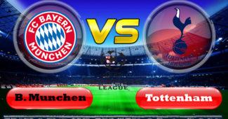 B. Munchen vs Tottenham Hotspur