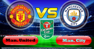 Manchester United vs Manchester City Carabao