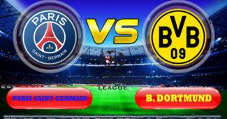 Paris Saint Germain vs B. Dortmund