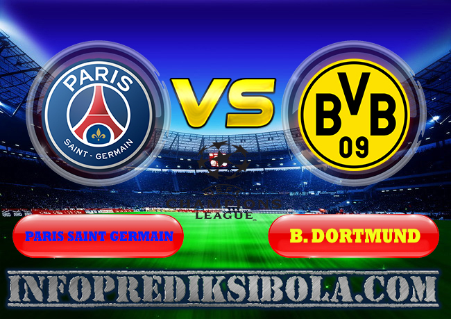 Paris Saint Germain vs B. Dortmund