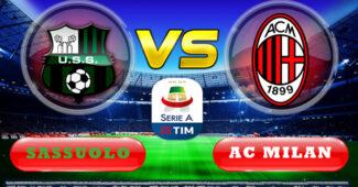 Sassuolo vs AC Milan