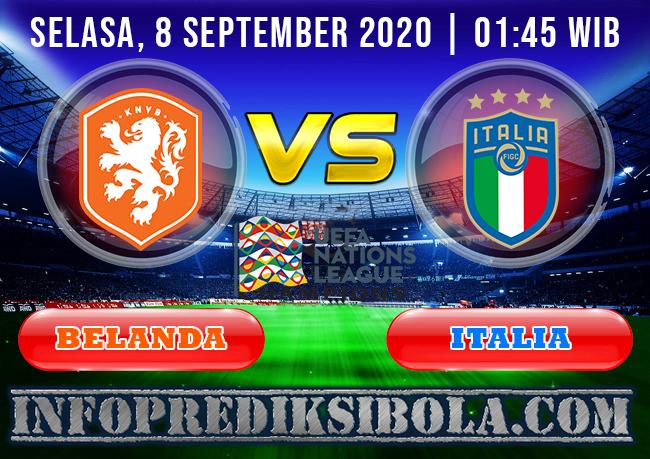 Prediksi Skor Belanda vs Italia