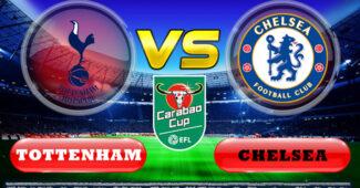 Tottenham Hotspur vs Chelsea Carabao