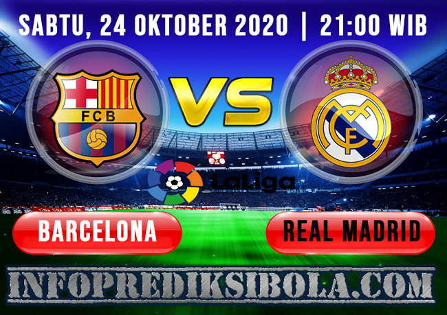 Barcelona vs Real Madrid 24 oktober