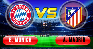 Bayern Munich vs Atletico Madrid 22 Oktober 2020