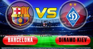 Barcelona vs Dinamo Kiev