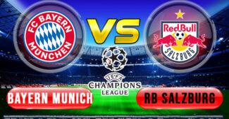 Bayern Munich vs Red Bull Salzburg