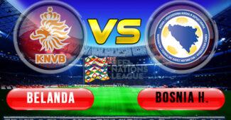 Belanda vs Bosnia Herzegovina