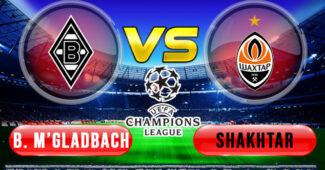 Monchengladbach vs Shaktar Donetsk