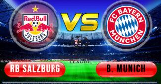 RB Salzburg vs Bayern Munich