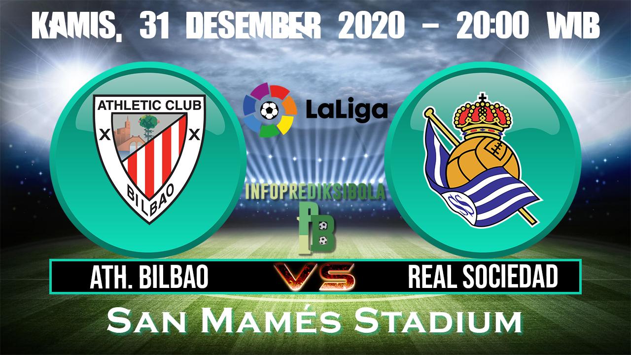 Prediksi Skor Athletic Bilbao vs Real Sociedad 31 Desember