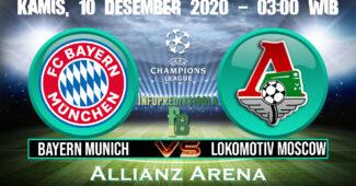 Bayern Munich vs Lokomotiv Moscow