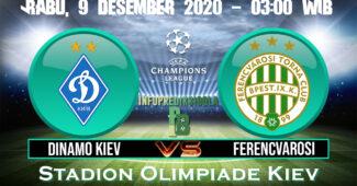 Dinamo Kiev vs Ferencvarosi