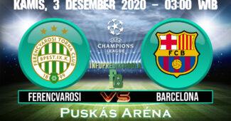 Ferencvarosi vs Barcelona