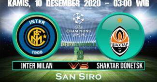 Inter Milan vs Shaktar Donetsk