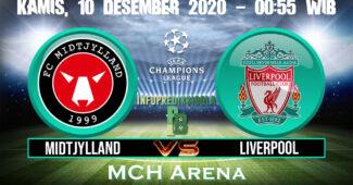 Midtjylland vs Liverpool