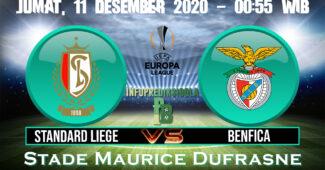 Standard Liege vs Benfica