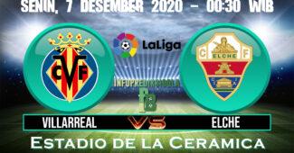 Villarreal vs Elche