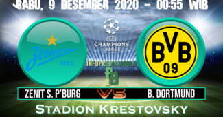 Zenit St. Petersburg vs Dortmund