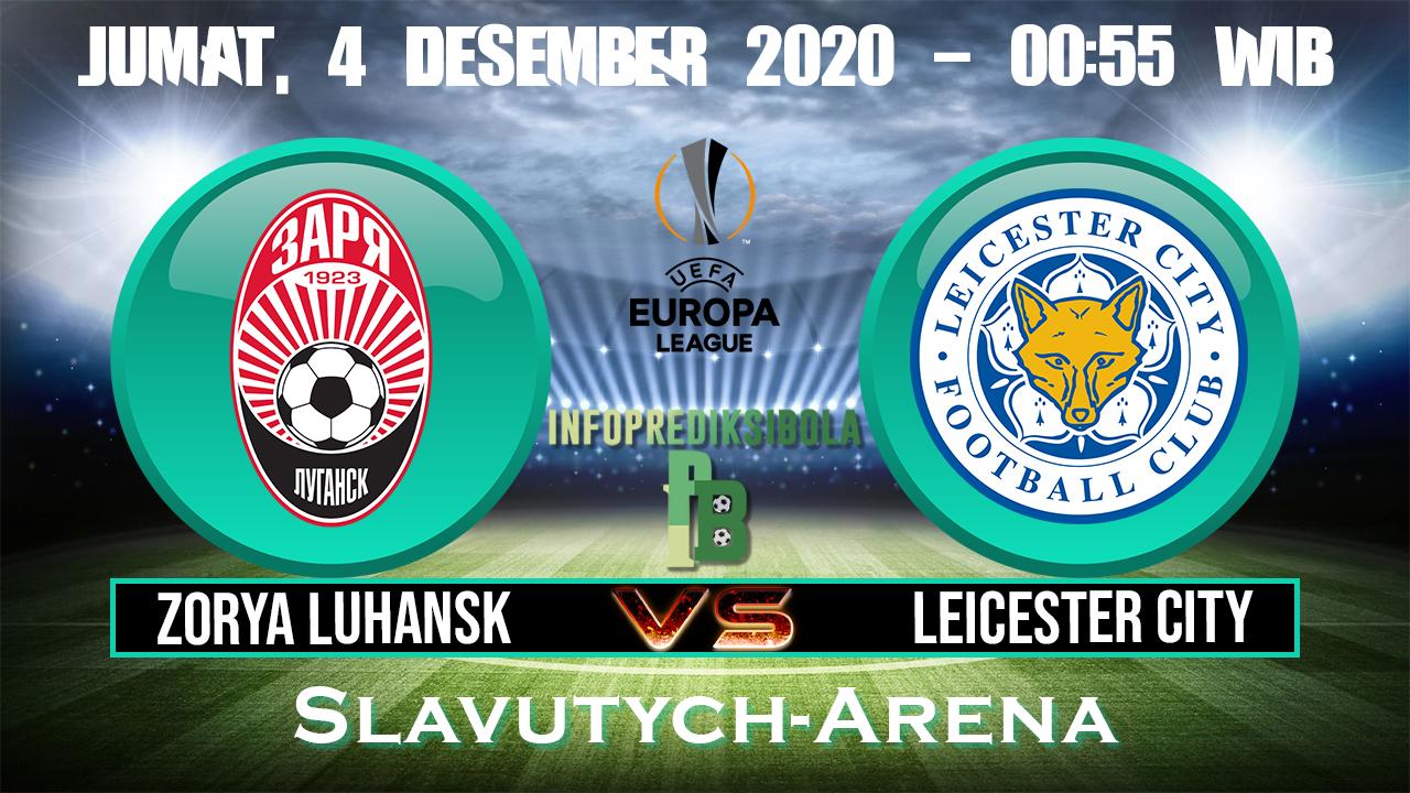 Zorya Luhansk Vs Leicester City