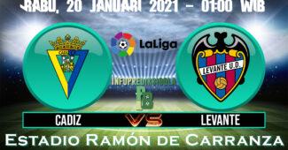 Cadiz vs Levante