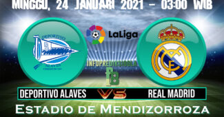 Prediksi Skor Deportivo Alaves Vs Real Madrid