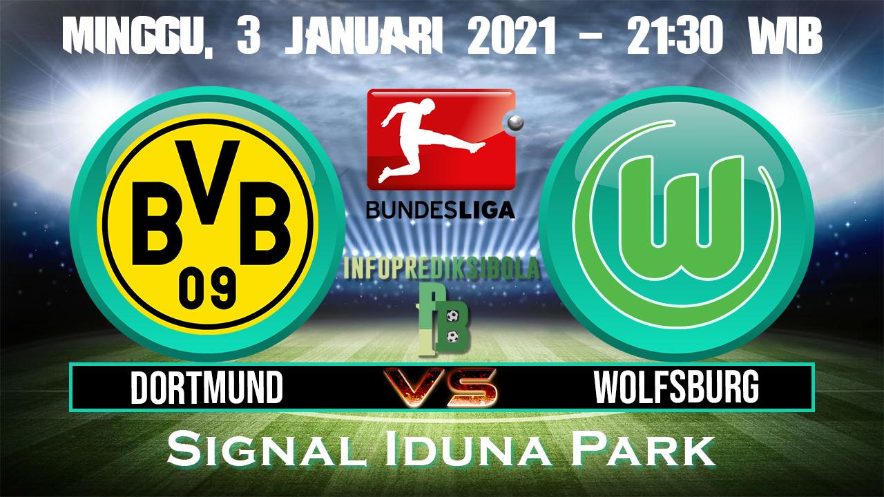 Prediksi Skor Borussia Dortmund vs Wolfsburg