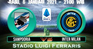Prediksi Skor Sampdoria vs Inter Milan