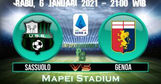 Sassuolo vs Genoa