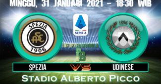 Spezia vs Udinese