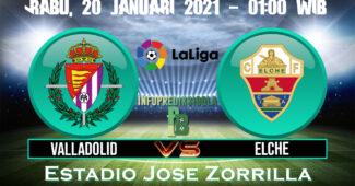 Valladolid vs Elche