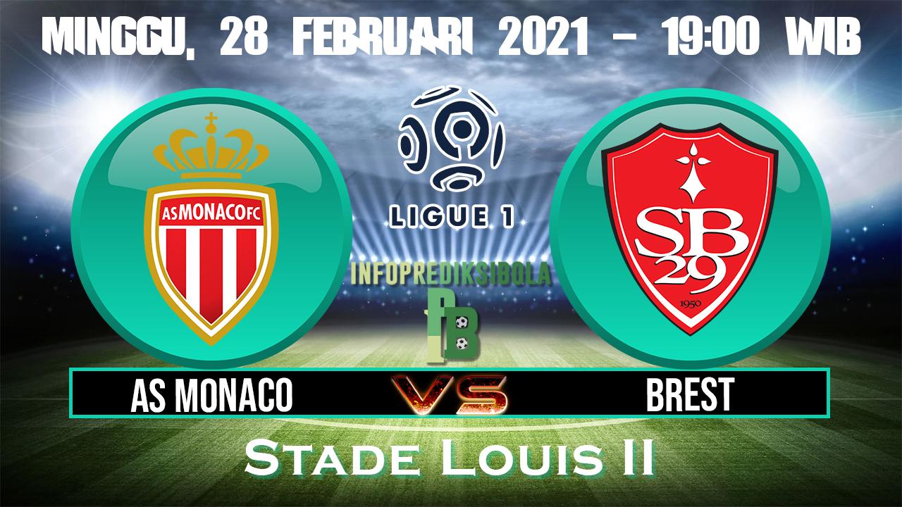 AS Monaco Vs Brest