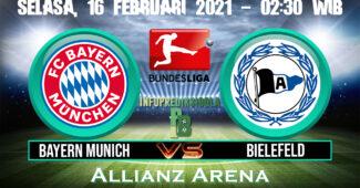 Bayern Munich vs Bielefeld