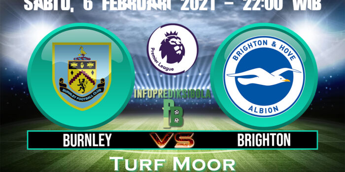 Burnley Vs Brighton Hove Albion