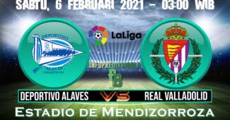 Deportivo Alaves Vs Real Valladolid