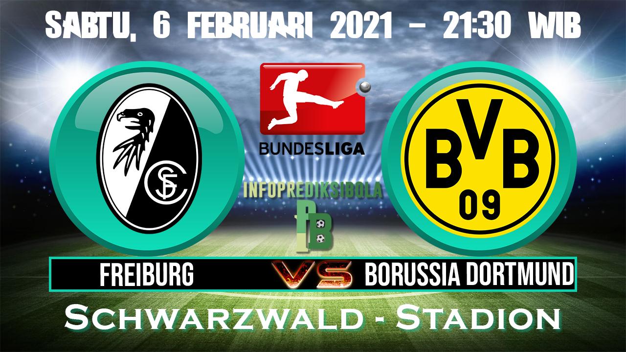 Prediksi Skor Freiburg vs Borussia Dortmund