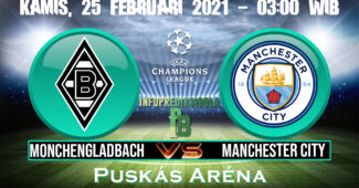 Prediksi Skor Monchengladbach vs Manchester City