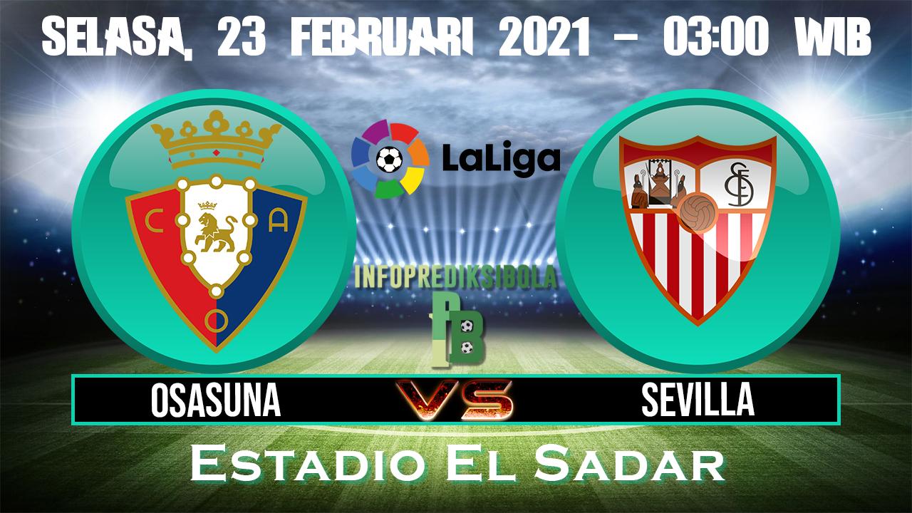 Prediksi Skor Osasuna vs Sevilla