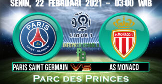 Paris Saint Germain vs As Monaco