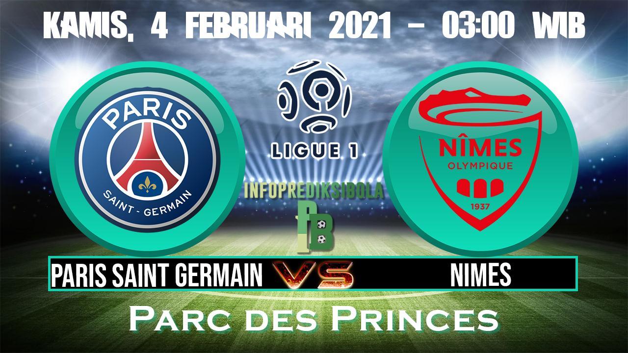 Paris Saint Germain vs Nimes