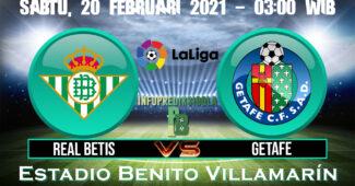 Prediksi Skor Real Betis vs Getafe