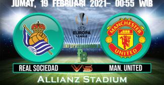 Real Sociedad vs Manchester Utd