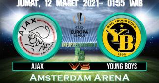 Prediksi Skor Ajax Amsterdam vs Young Boys