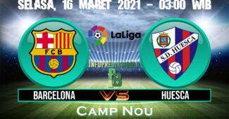 Prediksi Skor Barcelona vs Huesca