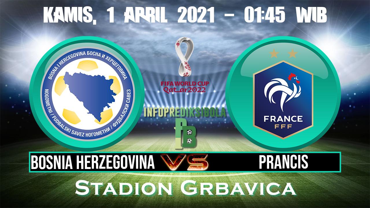 Bosnia Herzegovina vs France