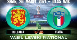 Prediksi Skor Bulgaria vs Italia