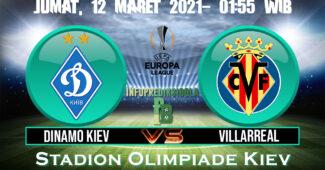 Dinamo Kiev vs Villarreal