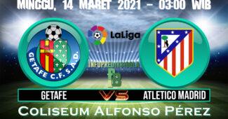 Prediksi Skor Getafe vs Atletico Madrid